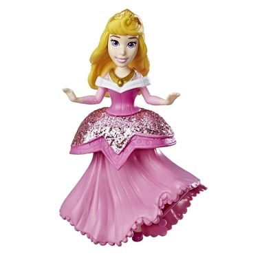 Disney Princess Disney Prenses Klipsli Mini Figür Aurora Renkli